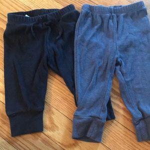 Baby Gap + Old Navy Leggings 3-6 Month